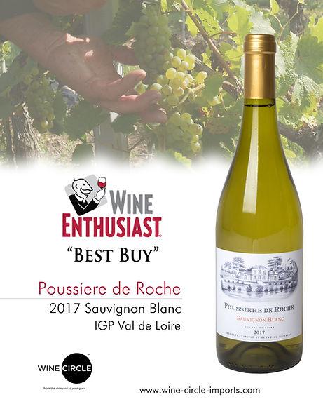 Poussiere de Roche 87pts Wine enthusiast