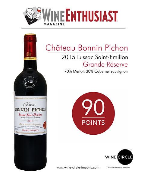 Chateau Bonnin Pichon 90pts WEnthusiast.