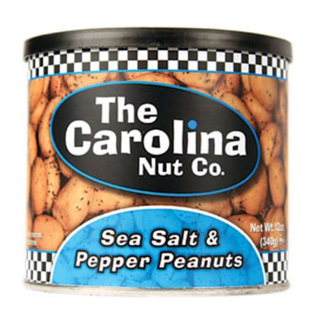 Sea Salt & Pepper Peanuts 12 oz