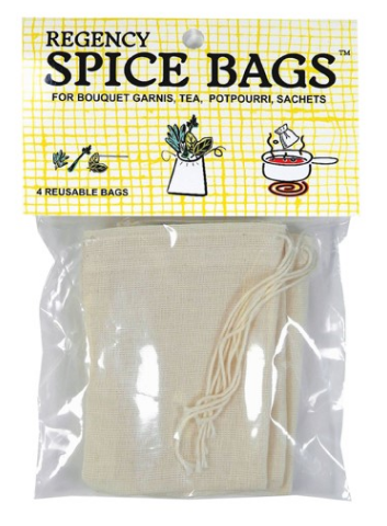 Spice & Tea Bags - Set of 4
