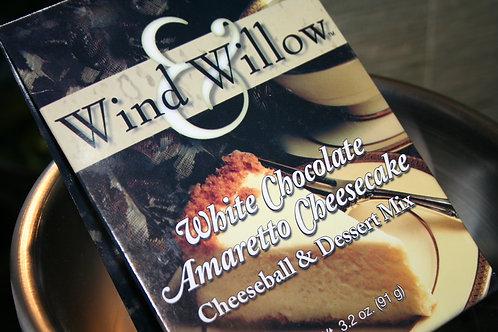 White Chocolate Amaretto Cheesecake Cheeseball & Dessert Mix