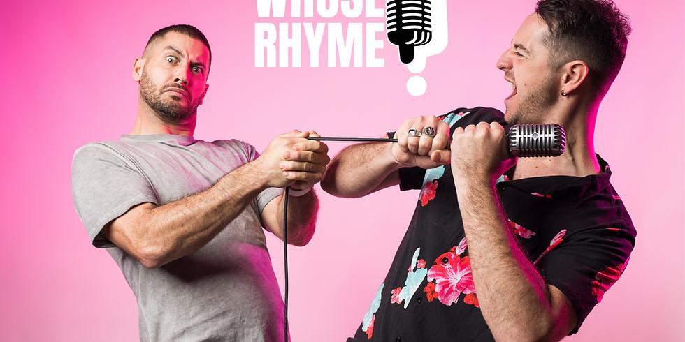 Chicken Burgers + Raps! Whose Rhyme @ RoyAls