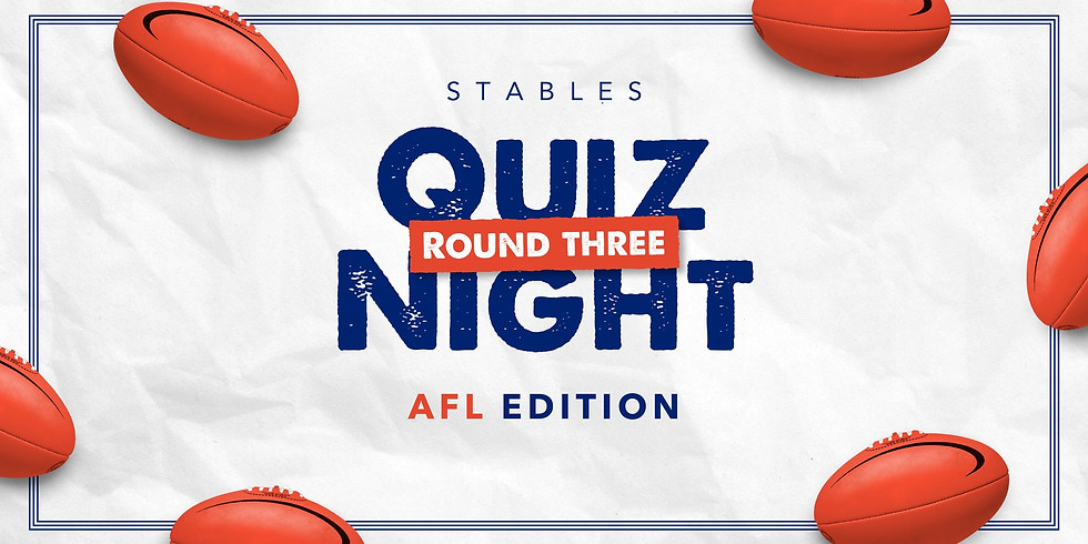 AFL QUIZ NIGHT