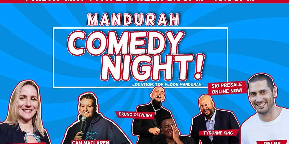 Comedy in Mandurah May 14th