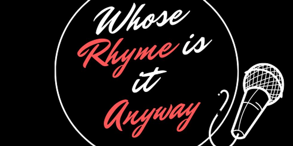 AQWA edition of Whose Rhyme