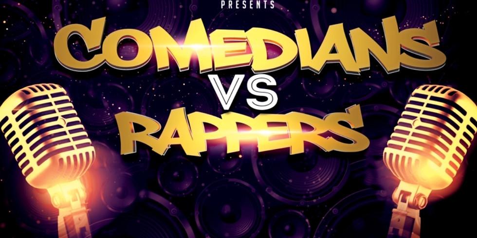 Comedians vs rappers