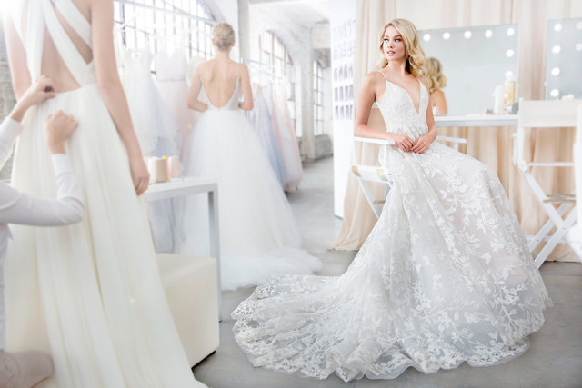Two New Wedding Dresses from Blush by Hayley Paige!