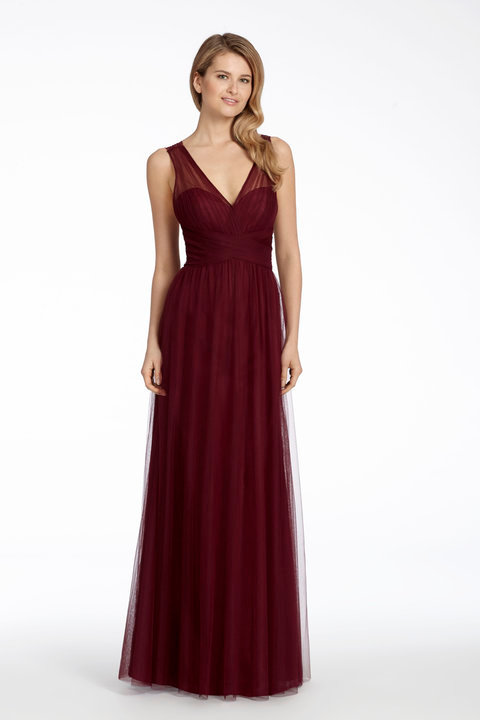 front bridesmaid dress 5707 by hayley paige occasions at zadika bridal