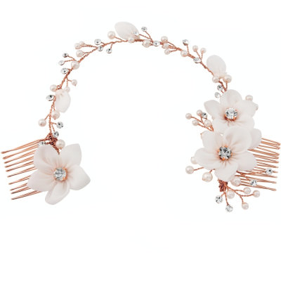 Flora Rose Gold Hairpiece €96