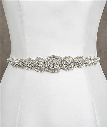 White One Bridal Belt
