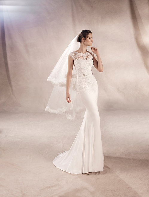 White One by Pronovias Yuriana dress at zadika bridal