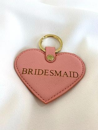 Bridesmaid Keyring