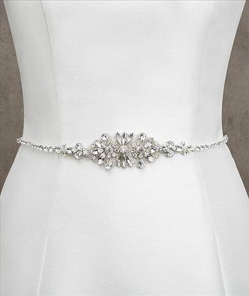 White One Bridal Belt 463