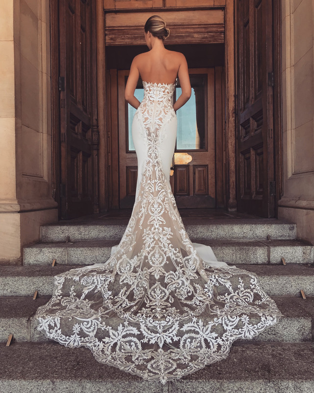 Lainey is here! Our Amazing New Dress from Enzoani