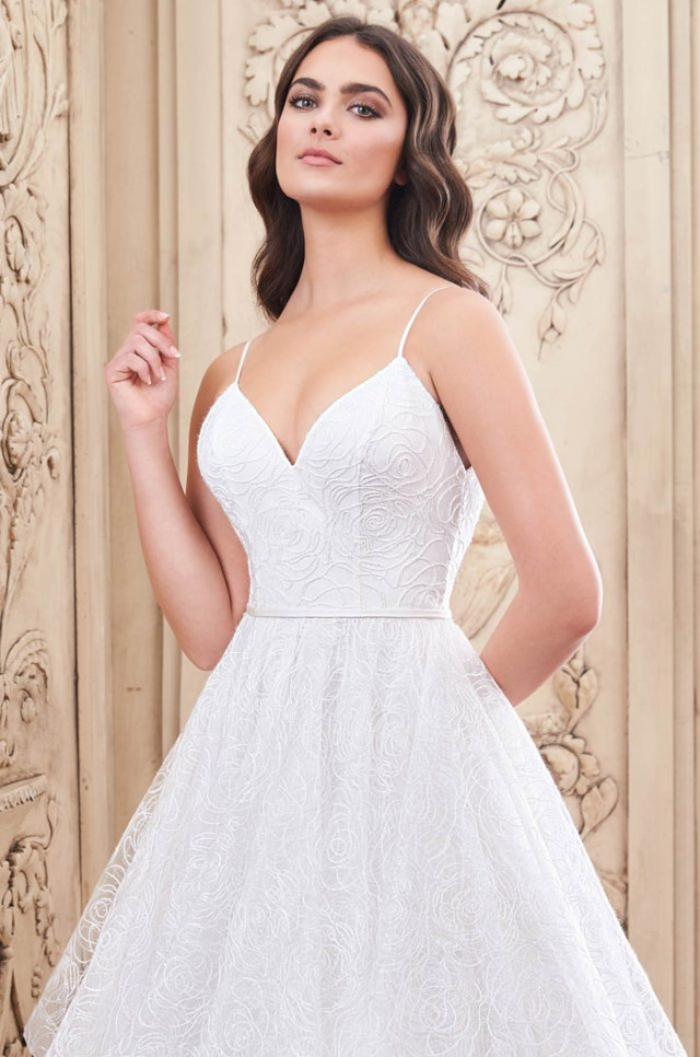 Our Newest Paloma Blanca Ball Gown