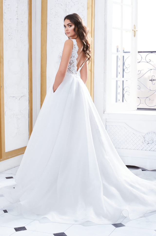 Our New Paloma Blanca Ball Gown