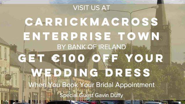 €100 Off Your Wedding Dress