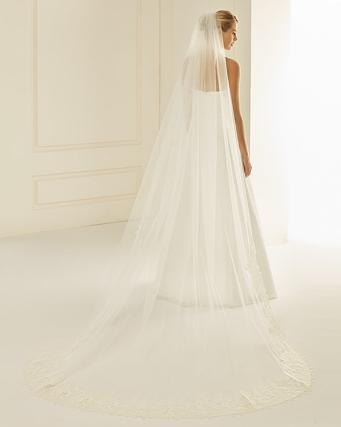 Emily - Lace Edge Cathedral Veil €380