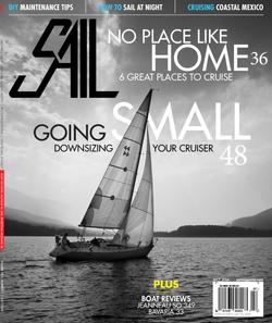 July 2014 SAIL Magazine cover