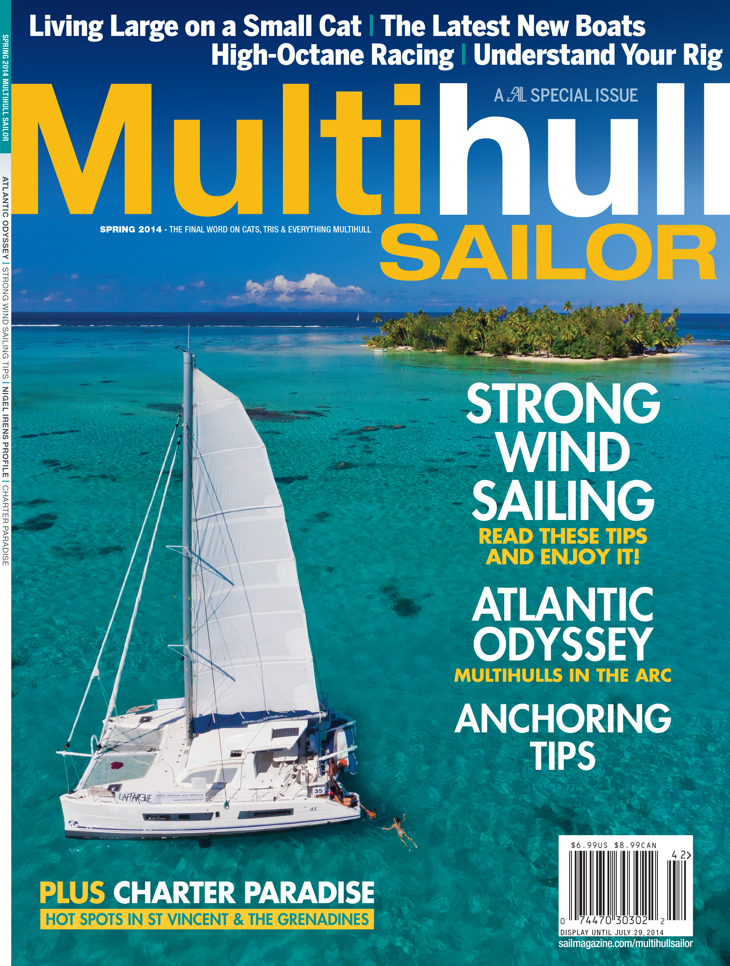 Multihull Sailor cover summer 2014