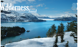 SAIL Magazine opening spread