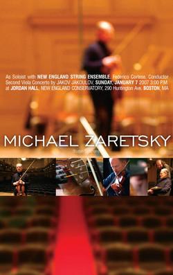 Michael Zaretsky poster