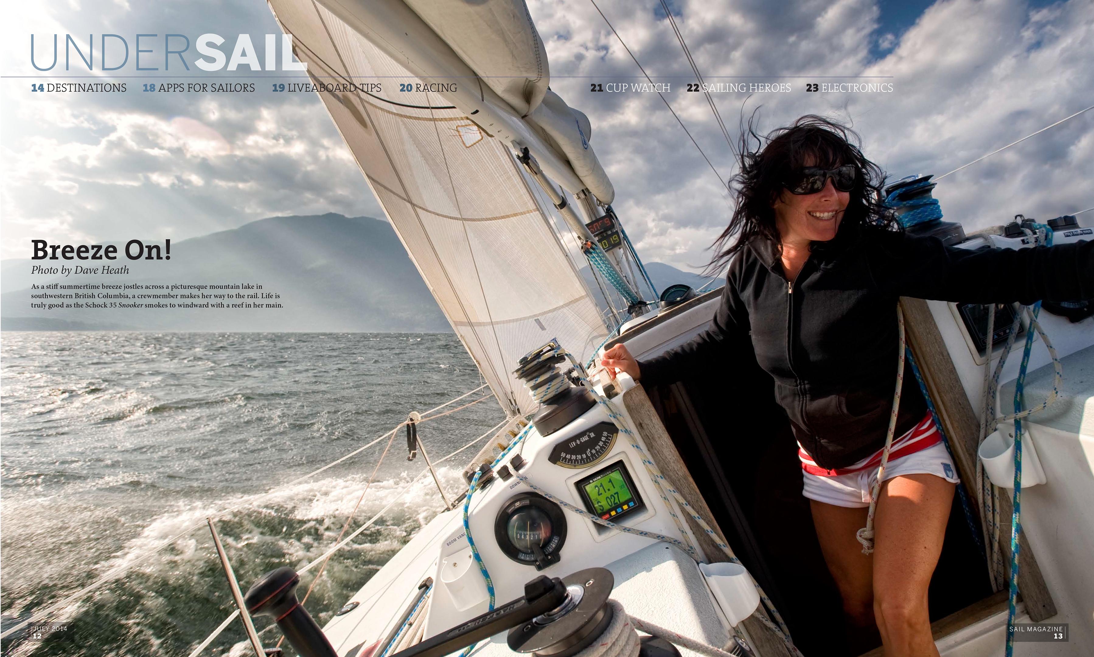 Under Sail SAIL Magazine