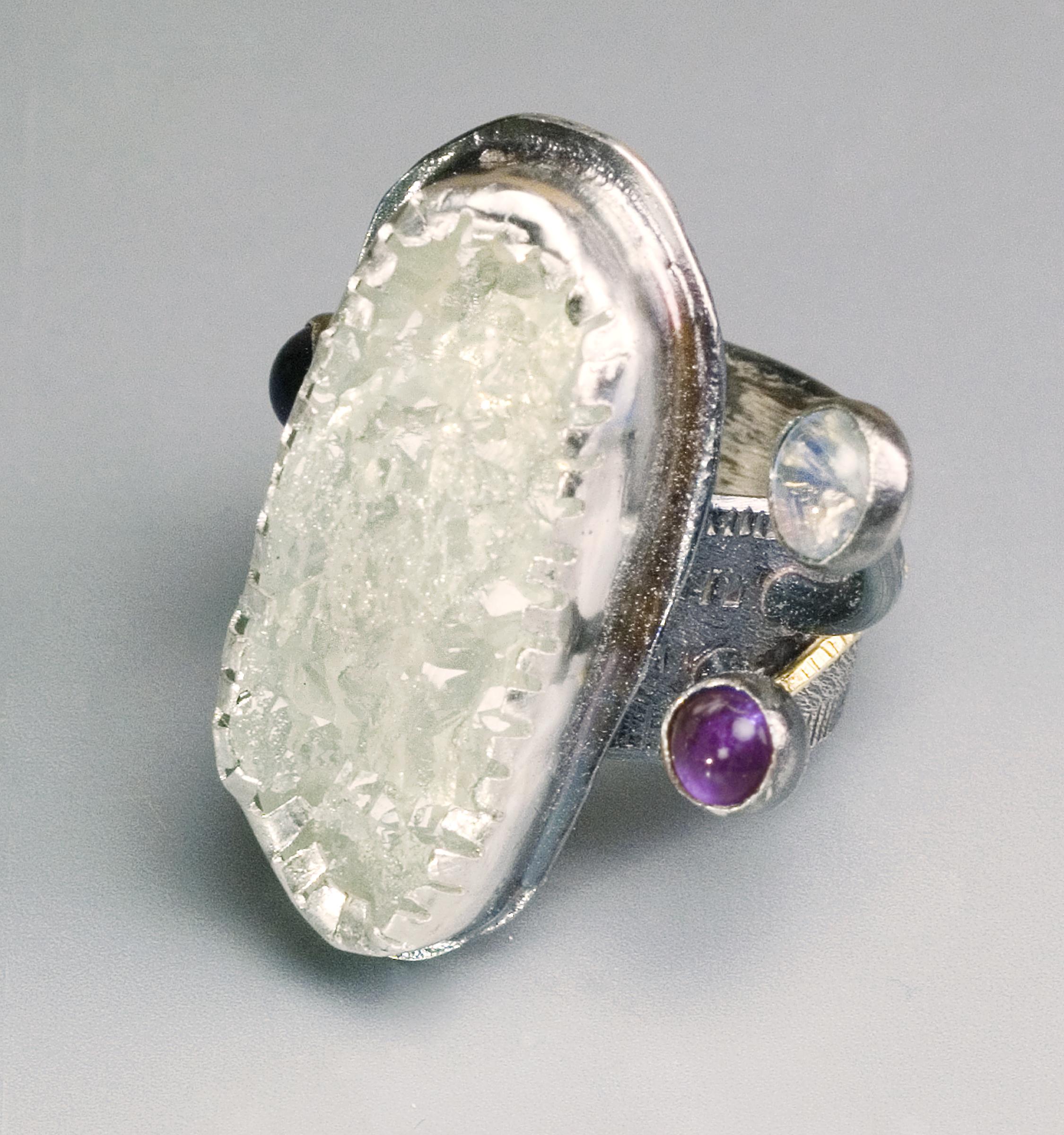 Aquamarine Ring-collected