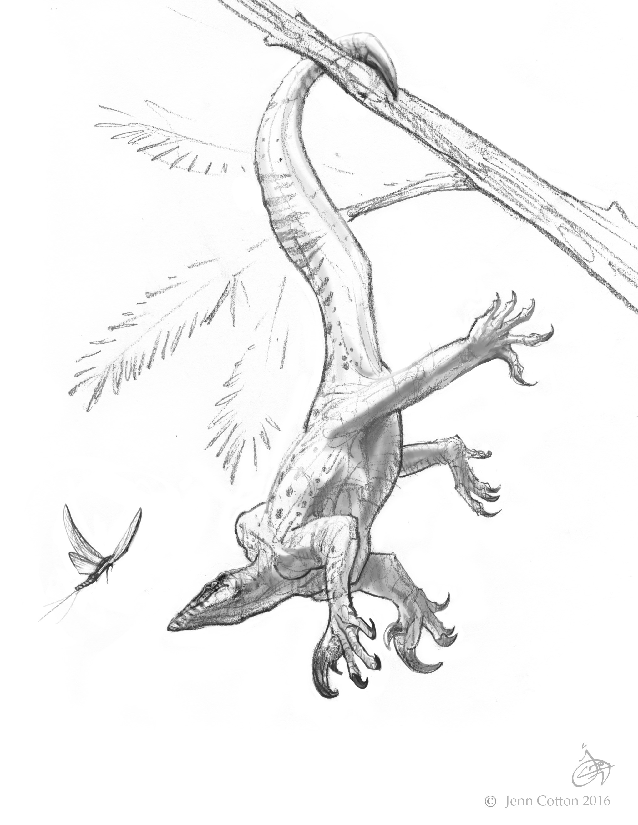 Drepanosaur