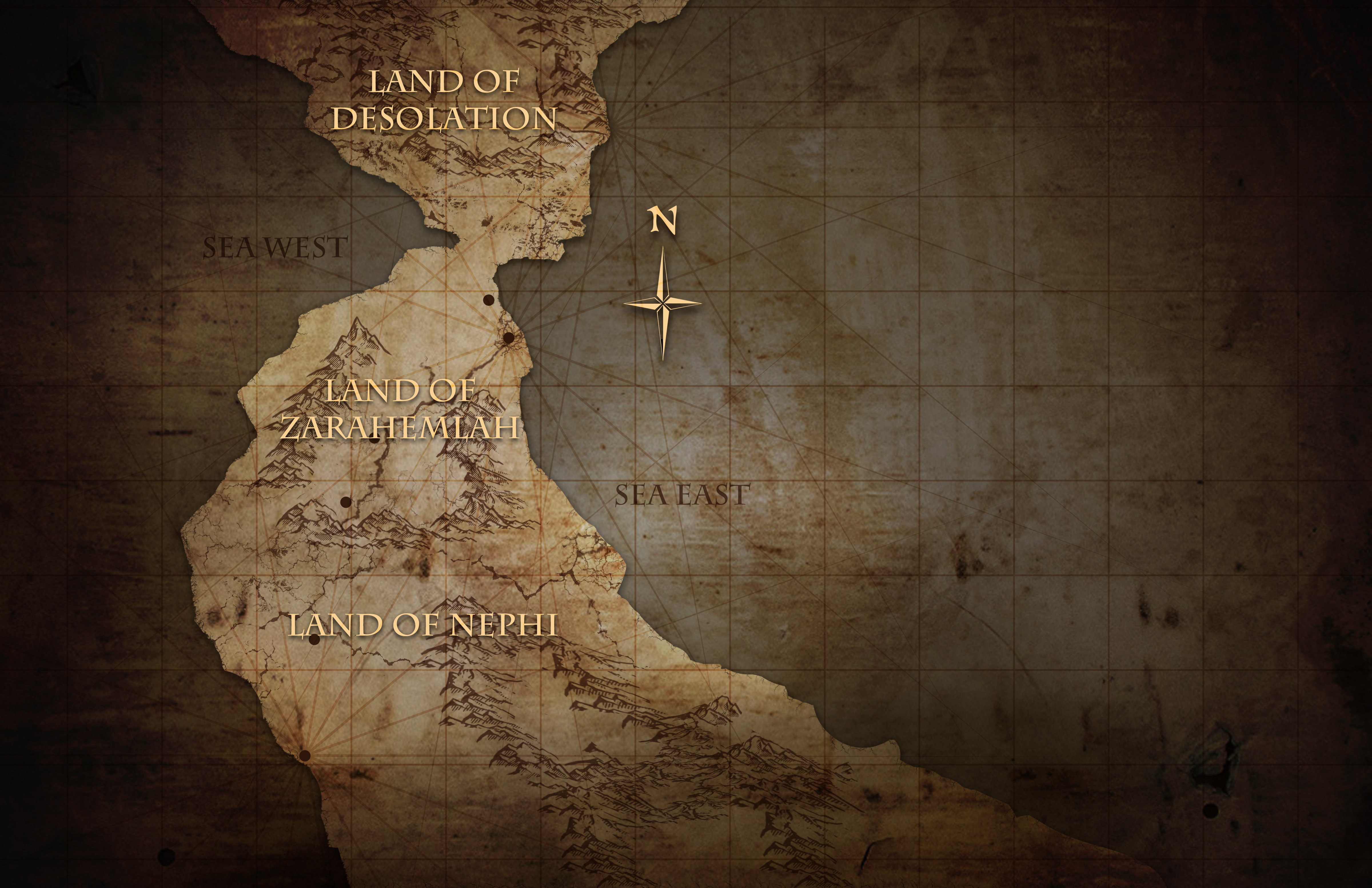 BOM Overworld Map