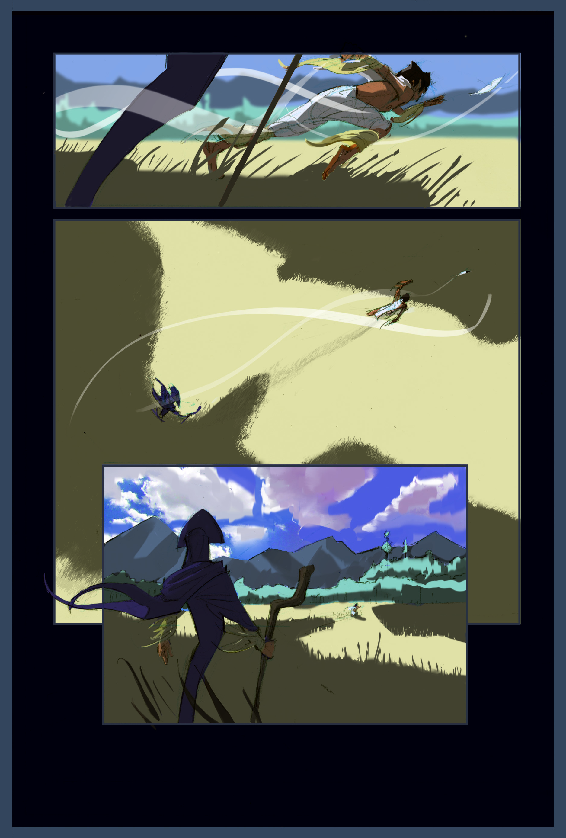 """Path of the Feather"" page 5"