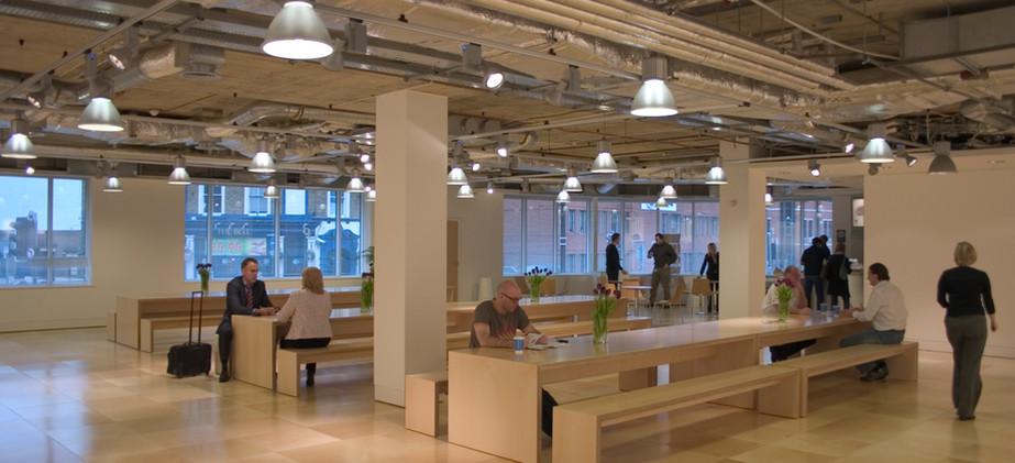 Collab/Cafe area