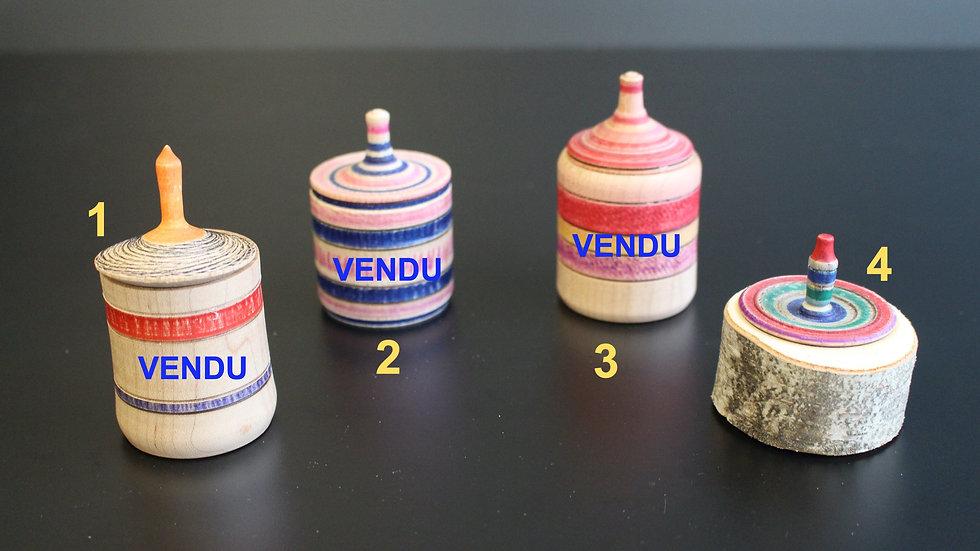 Toupie boîte - Gérald Couture Artisan