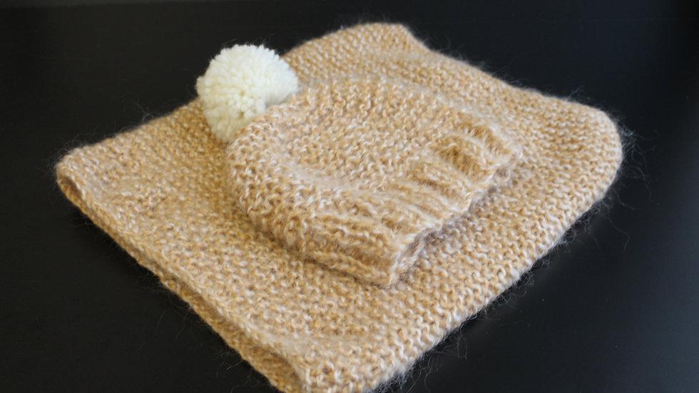 Ensemble tuque et foulard infini - Tuques de Mama