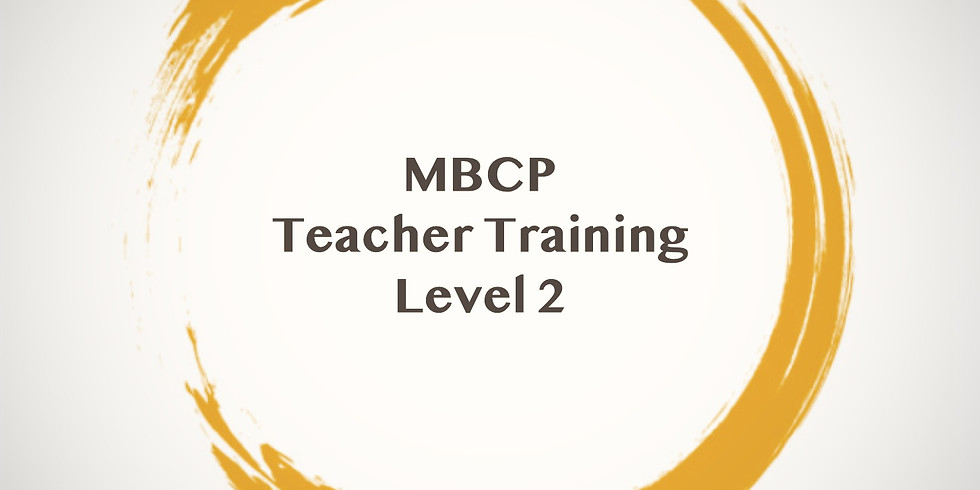 Level 2 MBCP Teacher Training – Online