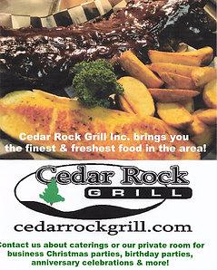 Cedar Rock Grill