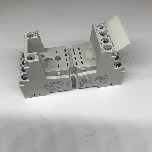 Цоколь, розетка для Реле R4-5024 24В для  ММУ-1000