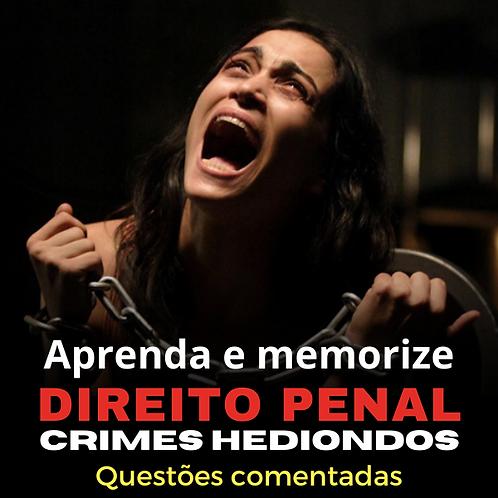 Crimes Hediondos: Aprenda e memorize.