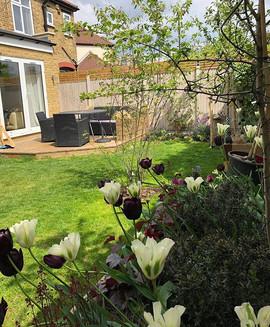 Garden redesign job completed in #Enfield