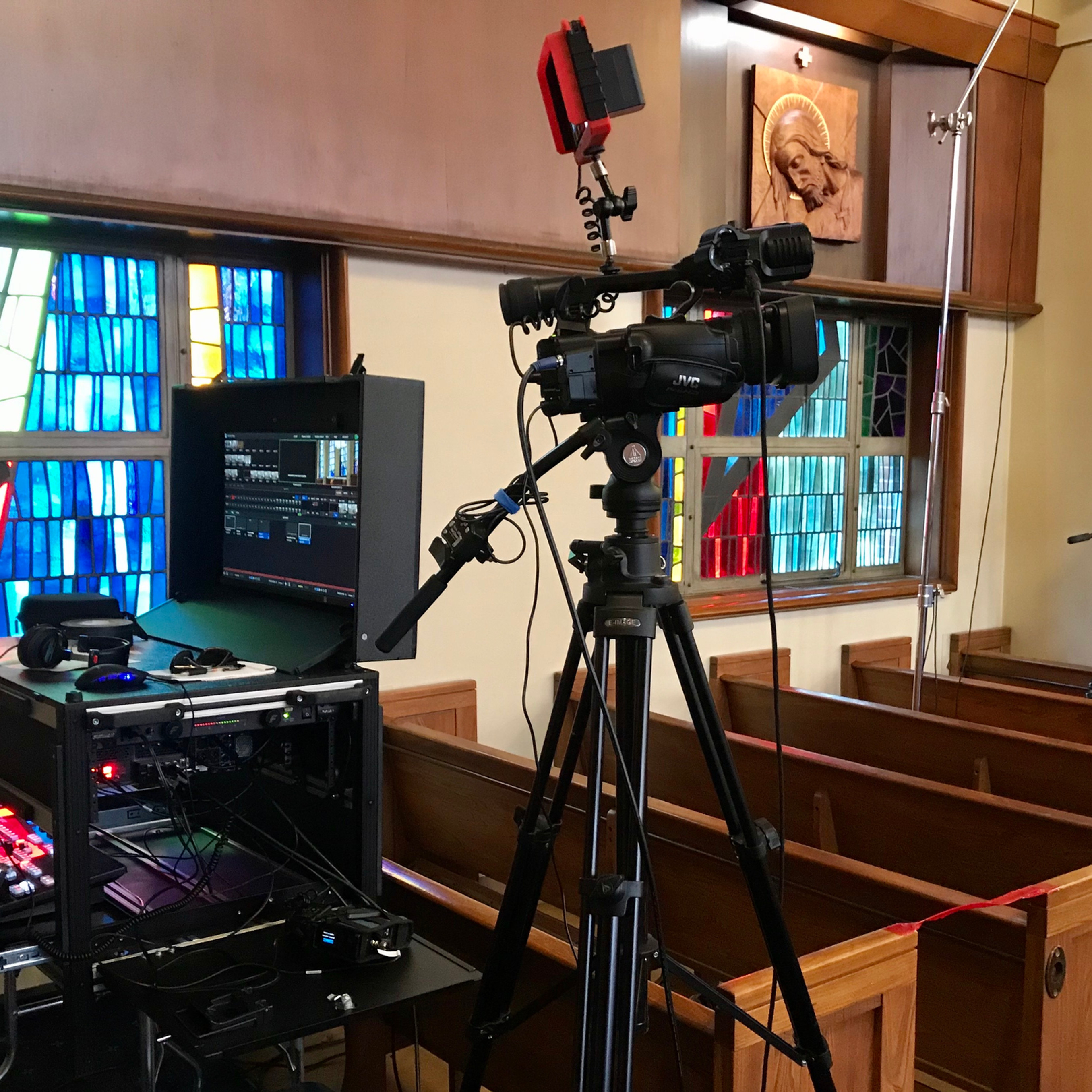 Multi Camera Funeral Live Stream