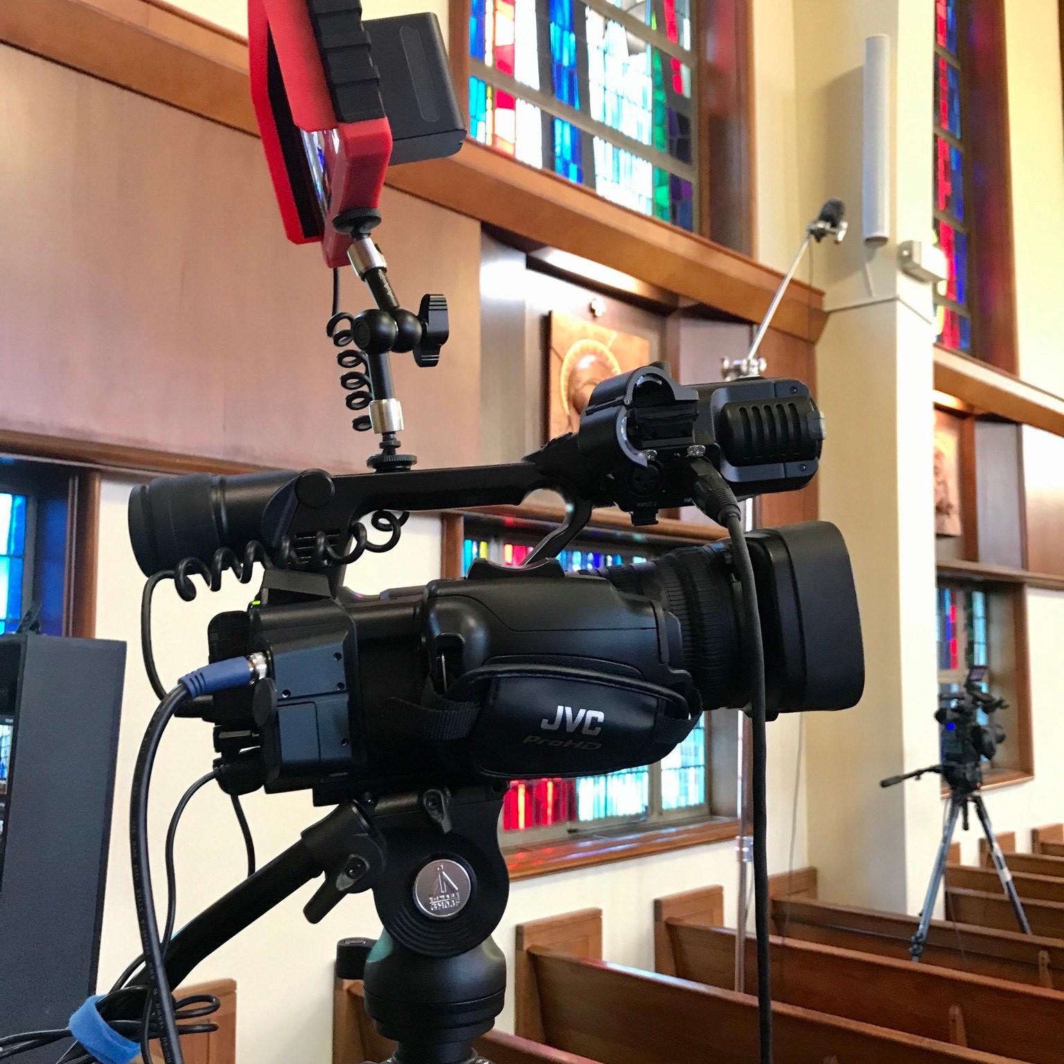 Single Camera Funeral Live Stream