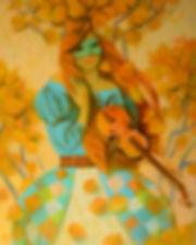 Осенняя мелодия.100х80 см Х.м. 2016.jpg