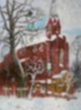 Зимний день. 80х60 см. Х.,м..jpg