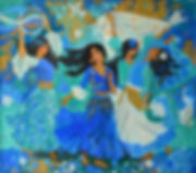 Цыганская песня 80х90 см 2011.jpg