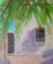 Дом с виноградом 60х50 см.jpg