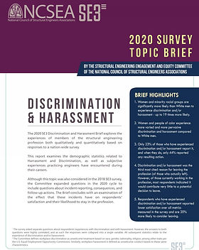 2020 SE3 Survey - Discrimination and Har