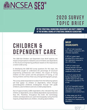 2020 SE3 Survey - Children and Dependent