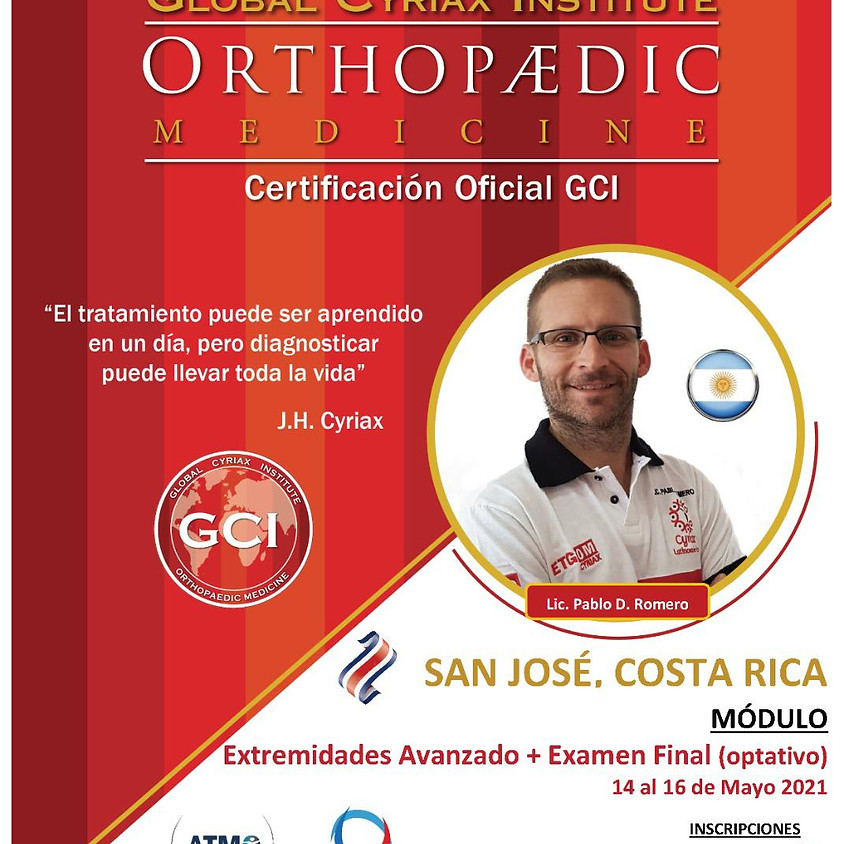 Terapia Manual Ortopédica, Dr. J. Cyriax (Extremidades, Nivel Avanzado)