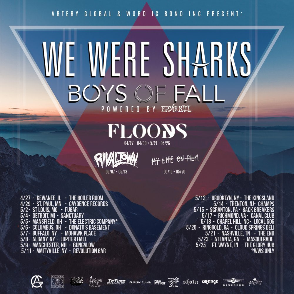 Opening for We Were Sharks