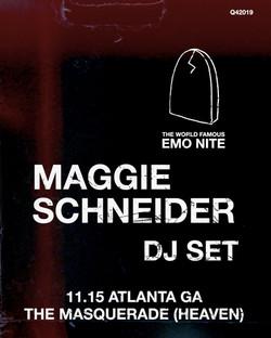 November 15 - Guest DJ at Emo Nite